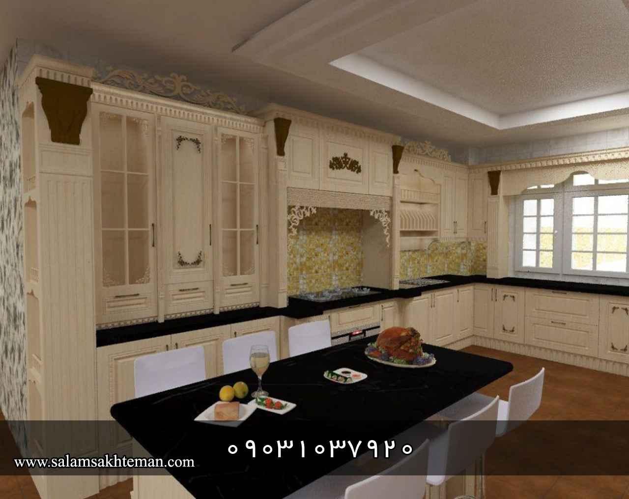 کابینت آشپزخانه - انواع مدل، قیمت و عکس کابینت