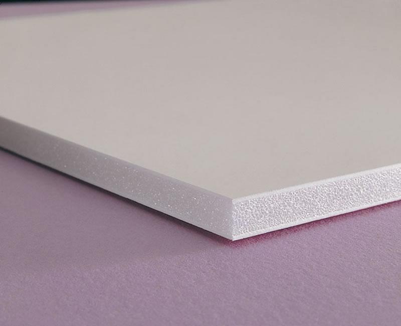 ورق ضد آب پی وی سی (PVC) سفید