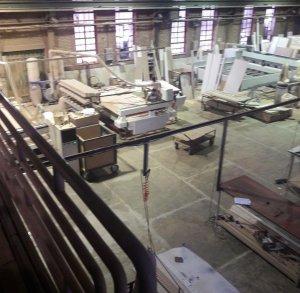 1500 متر کارخانه تولید درب های کابینت ممبران
