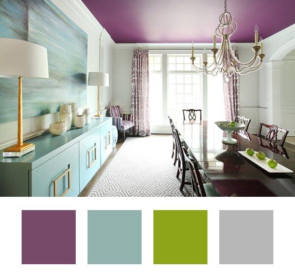 ترکیب رنگ دکوراسیون داخلی