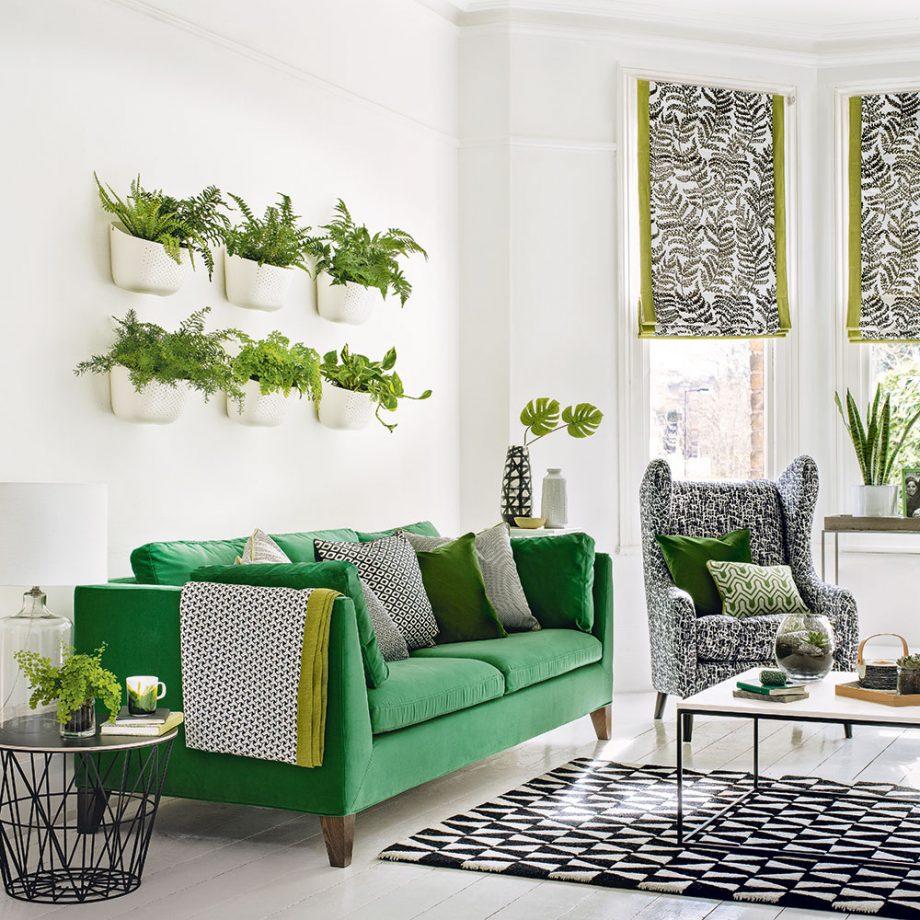 دکوراسیون داخلی رنگ سبز
