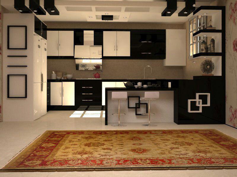 کابینت آشپزخانه ایرانی