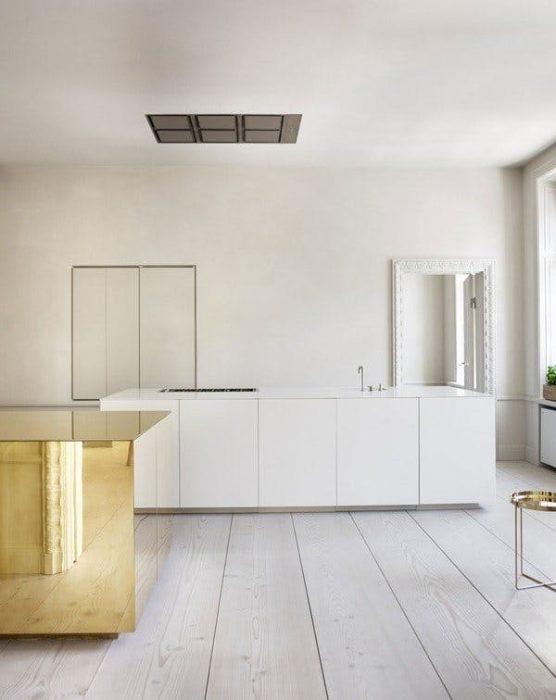 کابینت آشپزخانه بدون دستگیره