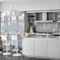 کابینت آشپزخانه سفید، 25 مدل جدید از بهترین ترکیب رنگ های سفید