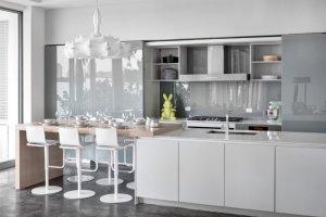 کابینت آشپزخانه سفید، مدل های شیک از یک رنگ دوستداشتنی کابینت