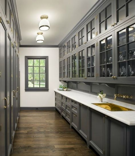 کابینت چوبی کلاسیک طوسی سفید