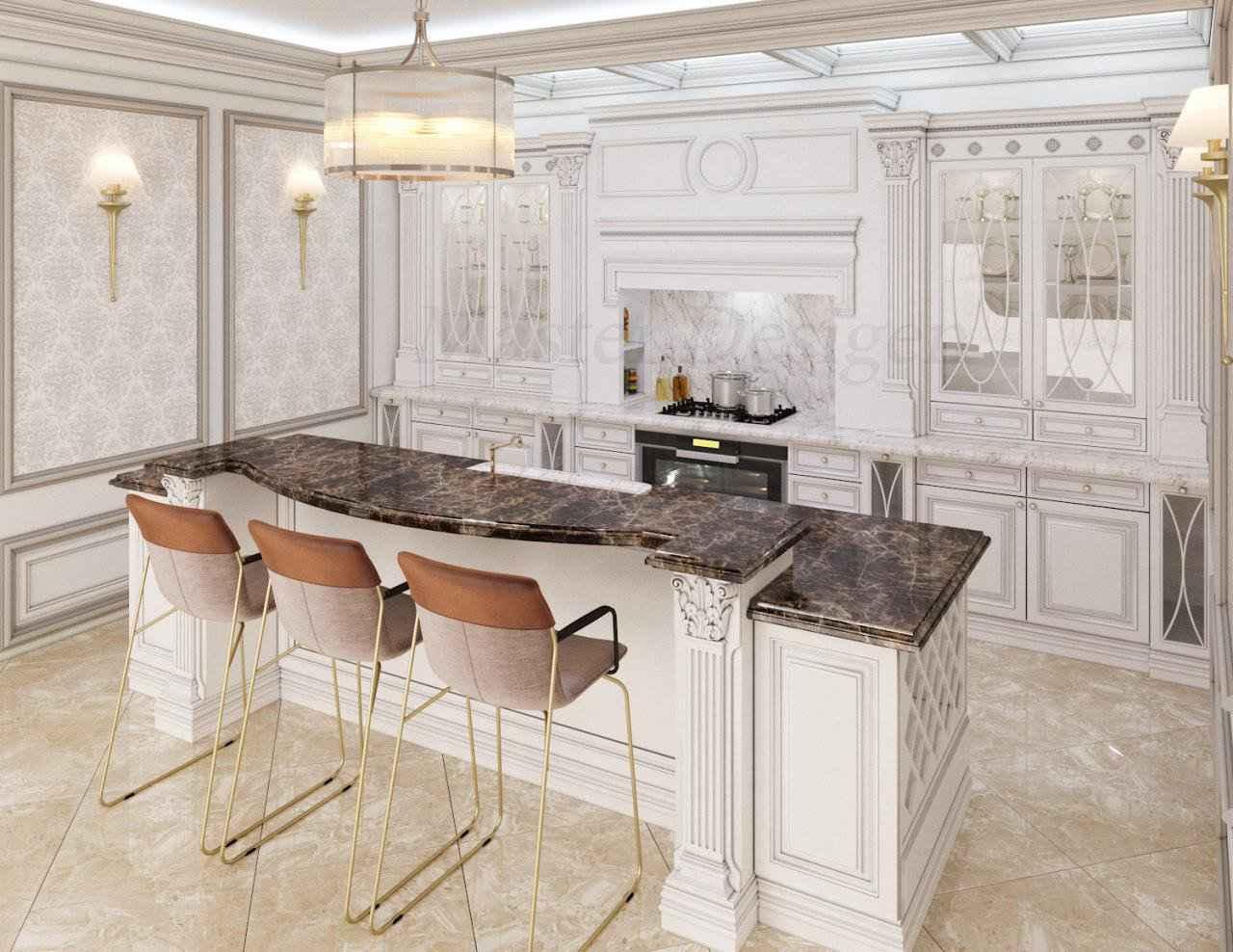 کابینت کلاسیک، مدل های کابینت کلاسیک که جلوه ی زیبایی به خانه ی شما می دهند.