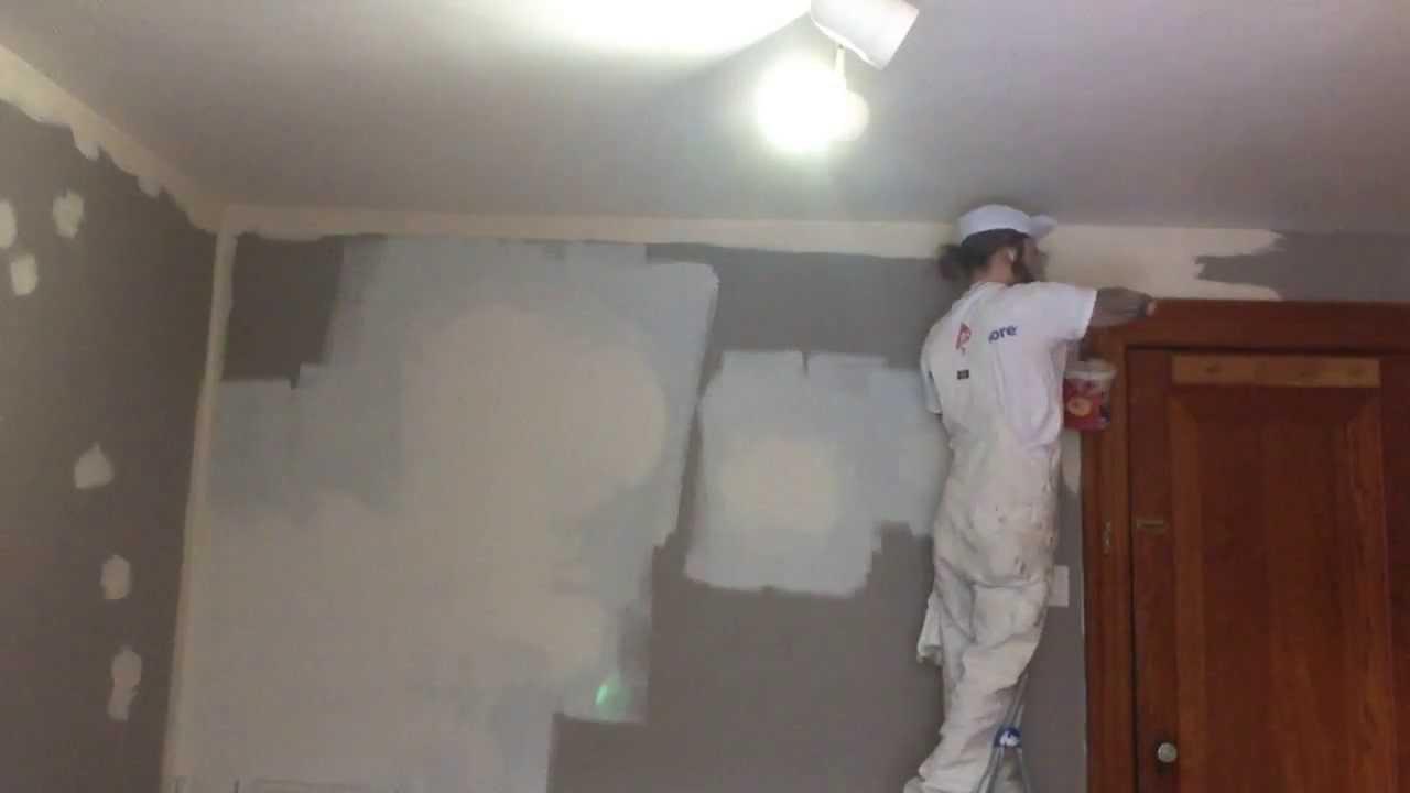 نقاشی دیوار و بتونه کاری