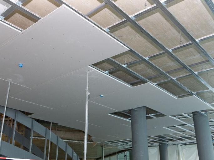 سقف کناف یا مشبک