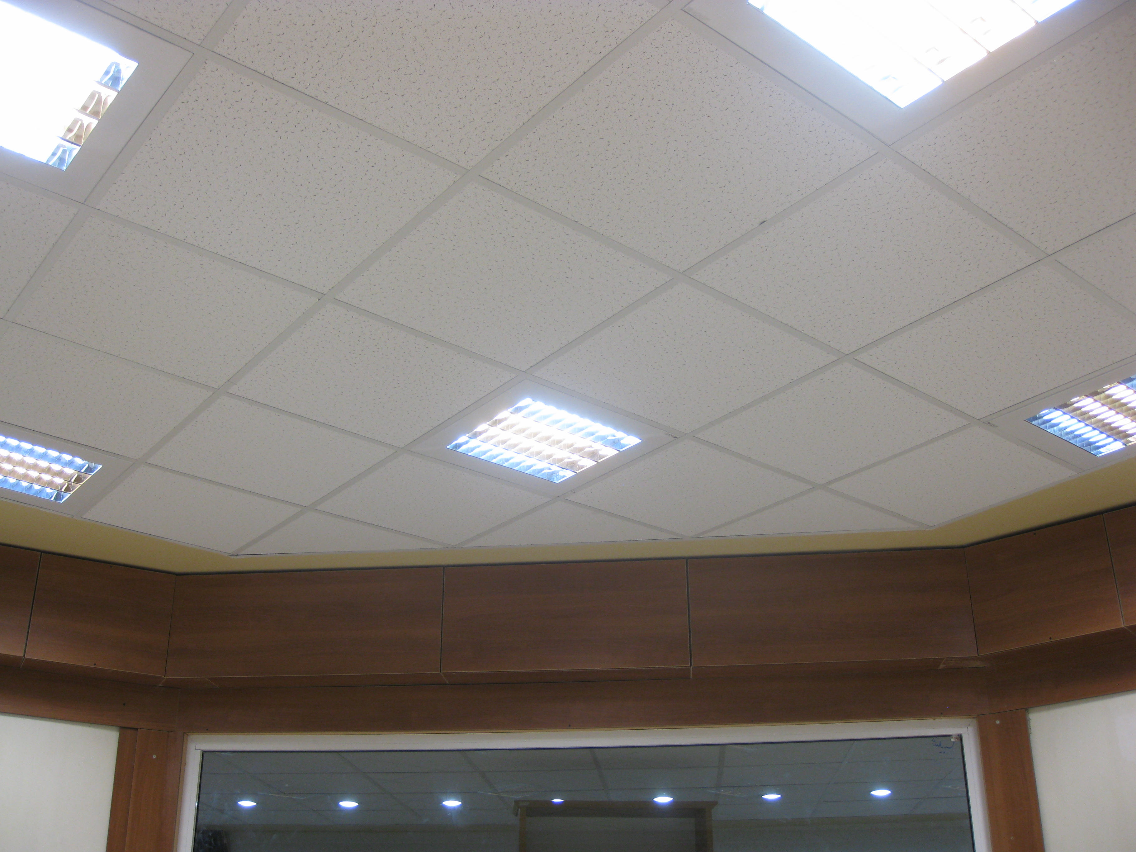 سقف کناف متحرک و یا مشبک