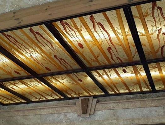 سقف کاذب طرحدار