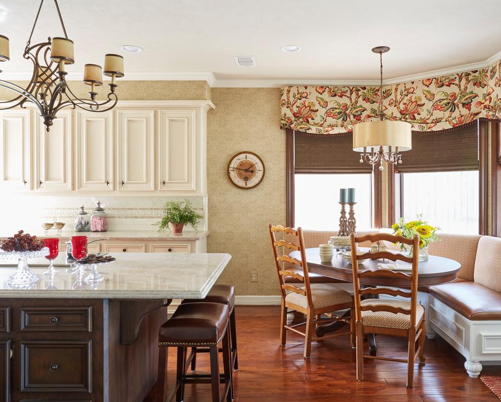 طرح آشپزخانه کلاسیک