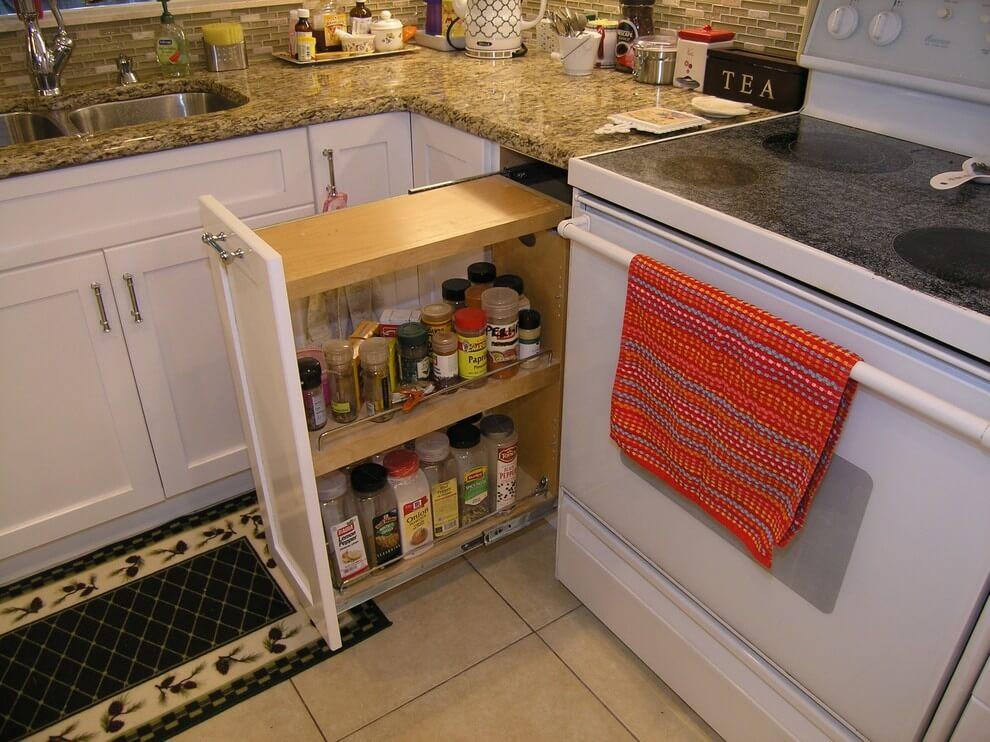 کبینت آشپزخانه کوچک 3