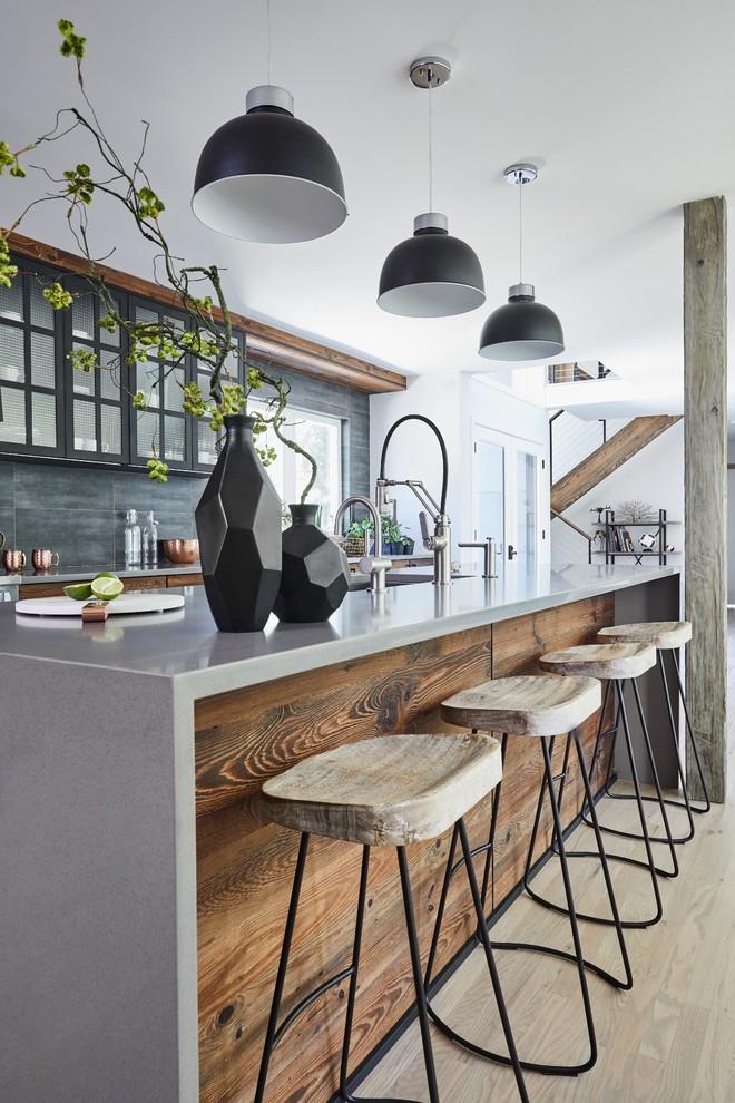 آشپزخانه مدرن- مدل آشپزخانه چوبی مدرن