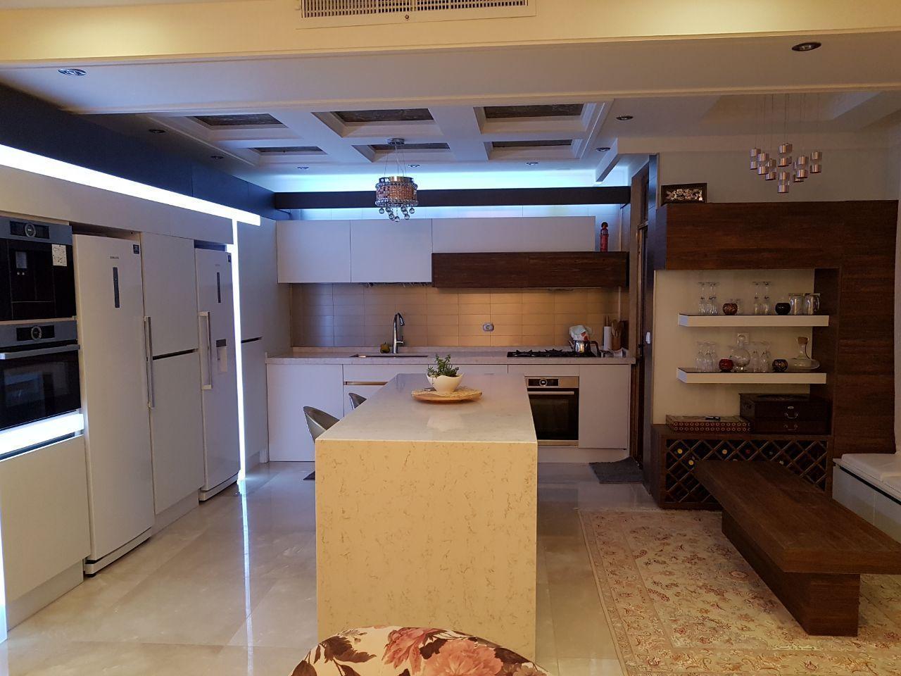 طراحی آشپزخانه بزرگ