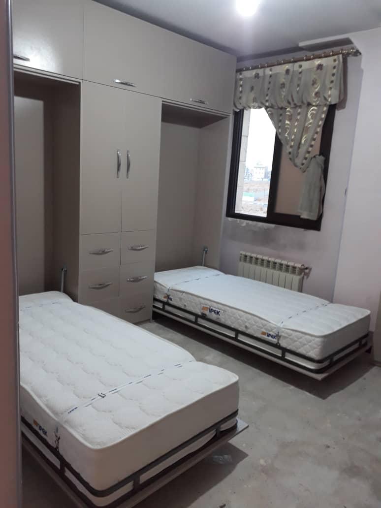 طراحی تخت و کمد برای فضاهای کوچک
