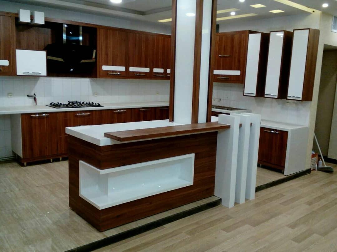 طراحی کابینت مدرن ام دی اف