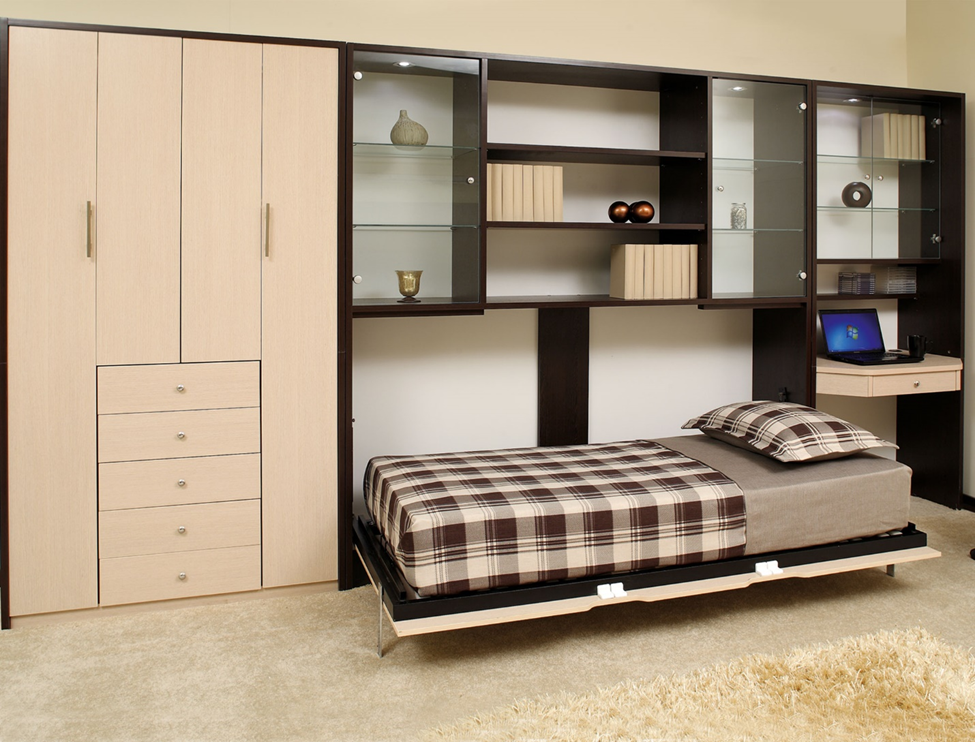 طراحی شیک تختخواب تاشو