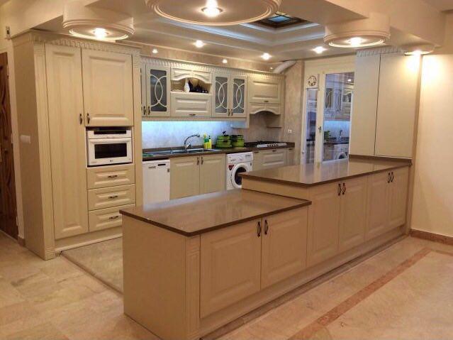 طراحی کابینت ممبران برای آشپزخانه کوچک
