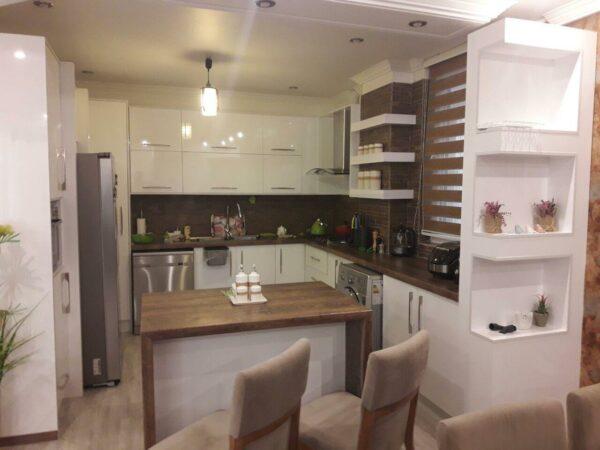 مدل کابینت آشپزخانه هایگلاس MDF