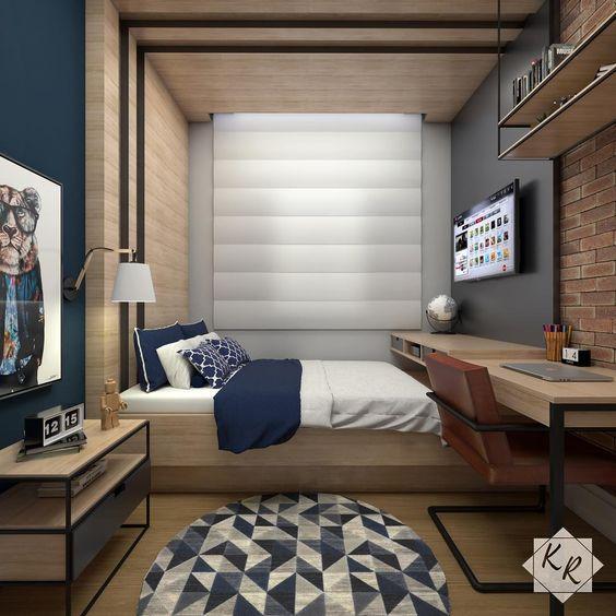 اتاق خواب پسرانه 25