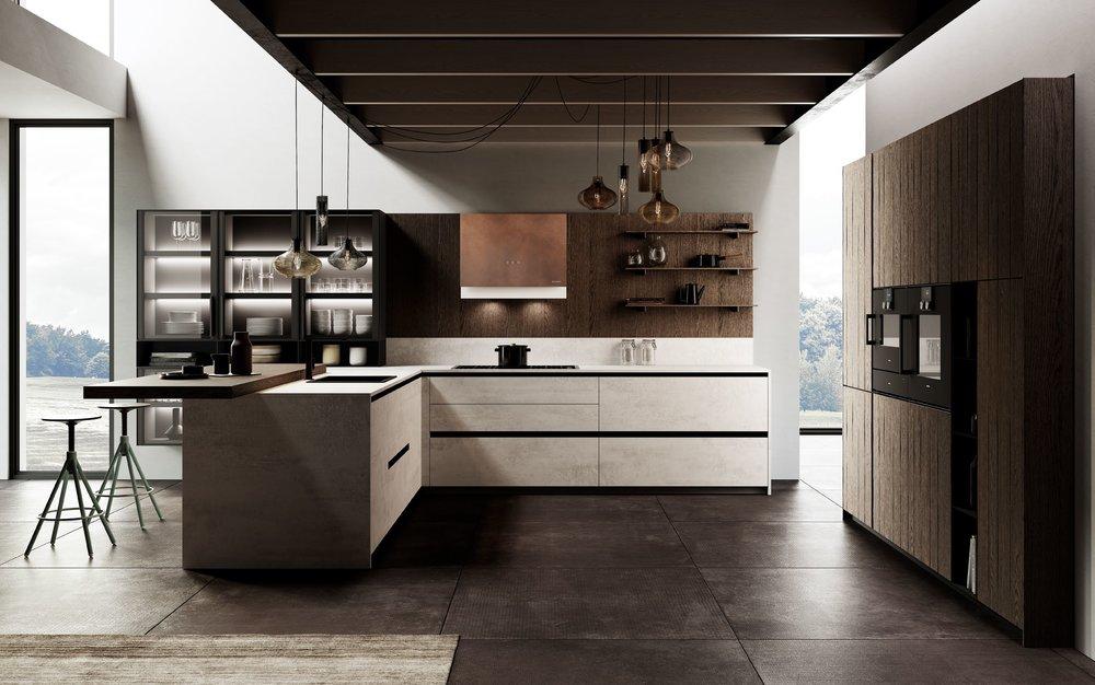 کابینت آشپزخانه ایتالیایی 2