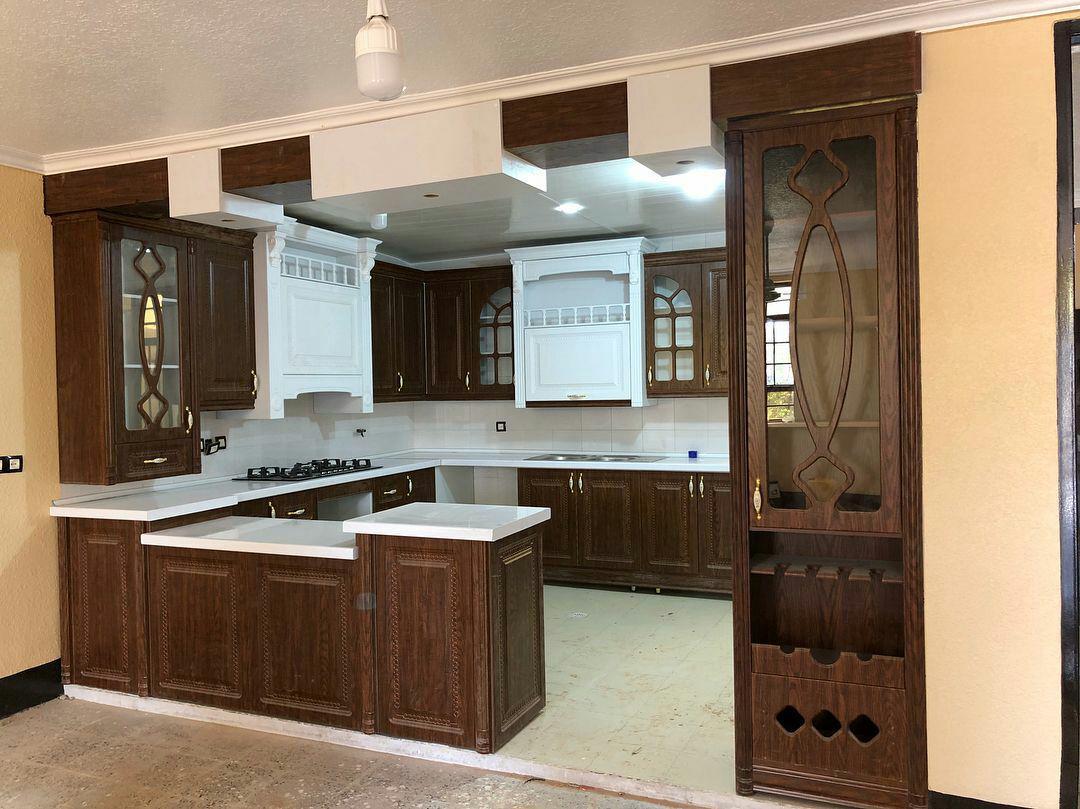 طراحی کابینت آشپزخانه 8