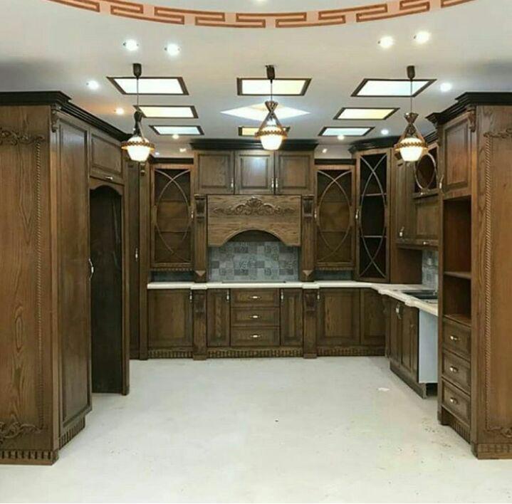 طراحی کابینت آشپزخانه 9