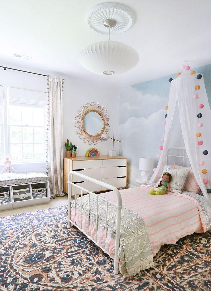 چیدمان اتاق خواب دخترانه 7
