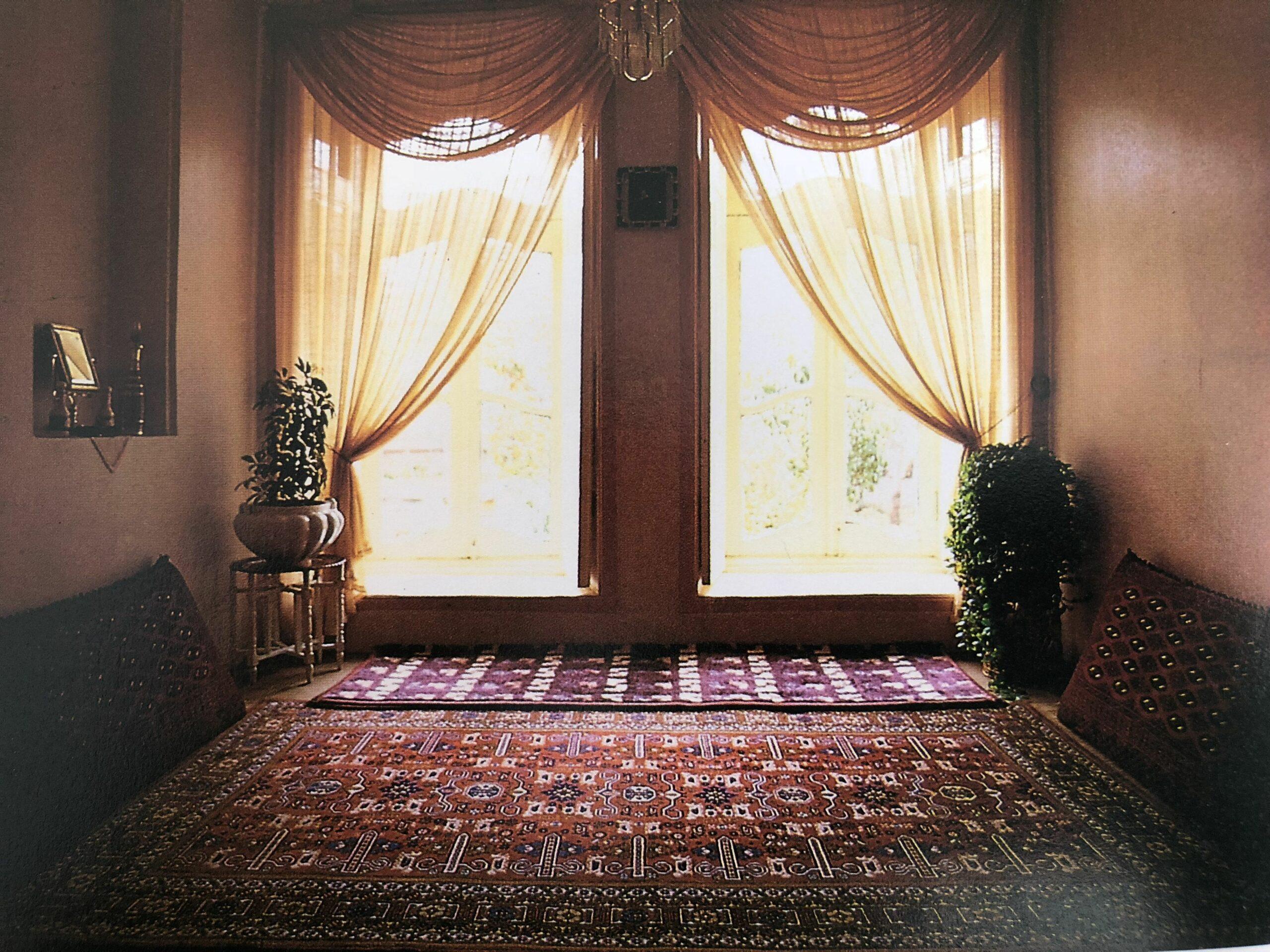 چیدمان سنتی اتاق 2