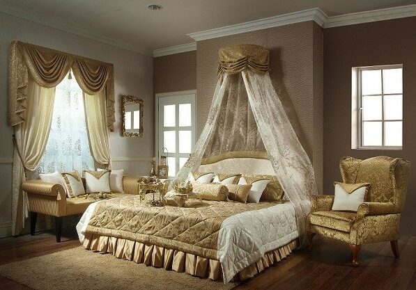 چیدمان اتاق خواب عروس 1