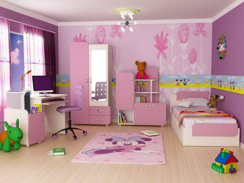 چیدمان اتاق خواب دخترانه 5