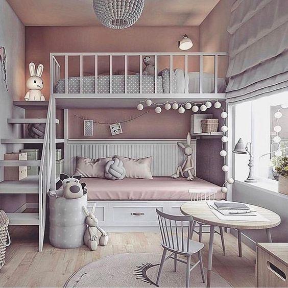 30 الگوی دکوراسیون اتاق خواب دخترانه جوان و بزرگسال