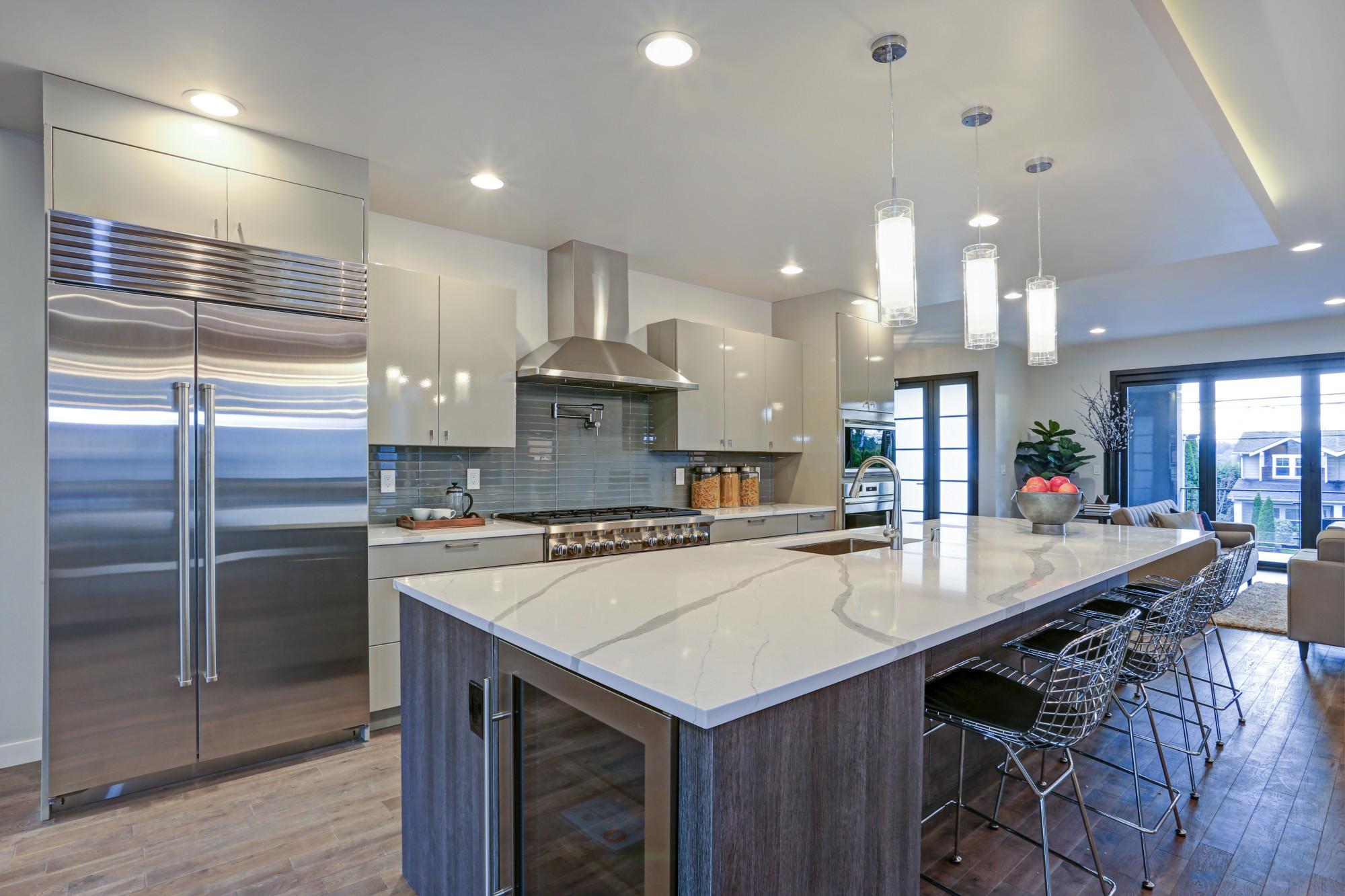طراحی آشپزخونه 16 متری 10