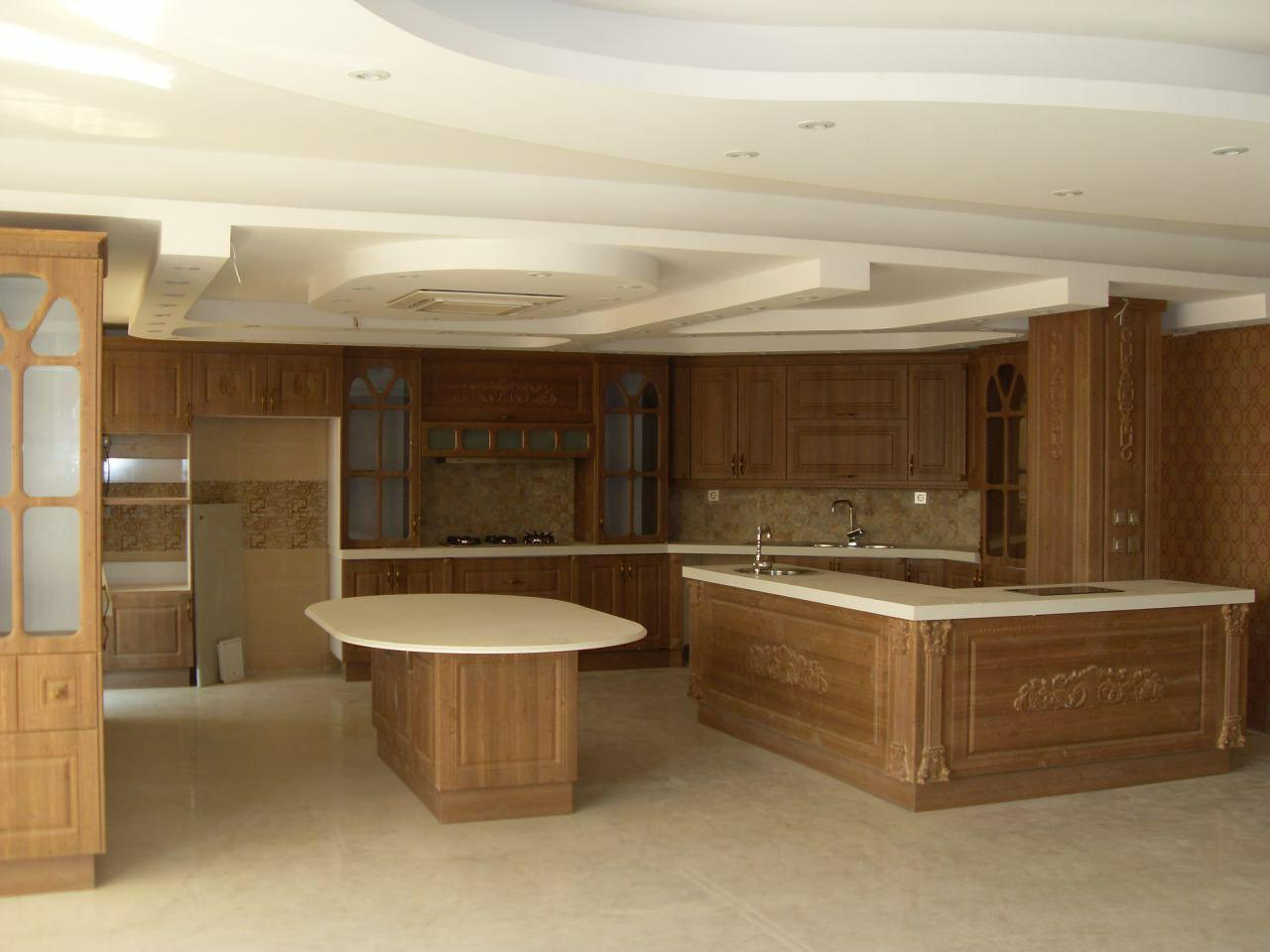 طراحی آشپزخونه 16 متری 13