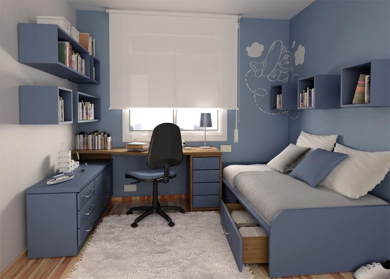 چیدمان اتاق کوچک 4