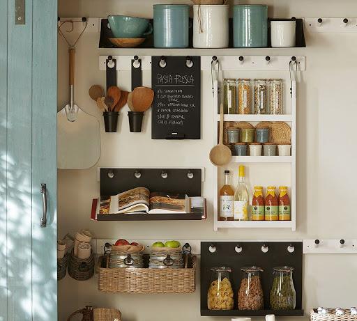 آشپزخانه بدون کابینت 4