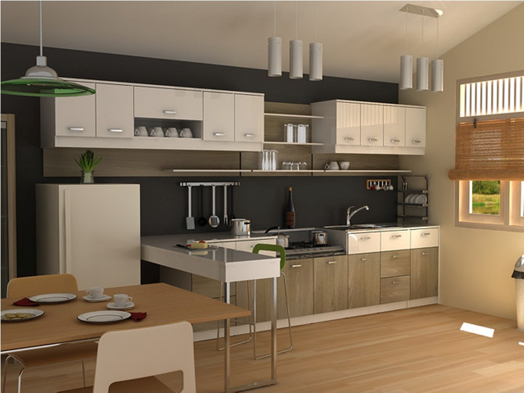چیدمان آشپزخانه مدرن 14