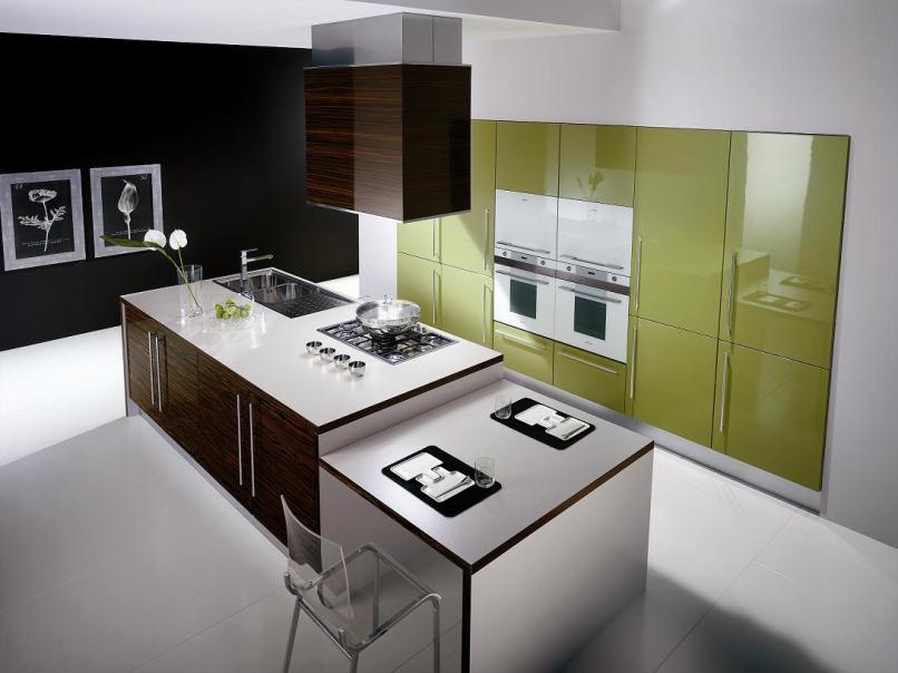 چیدمان آشپزخانه مدرن 17