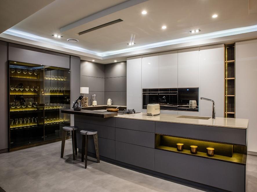 چیدمان آشپزخانه مدرن 18
