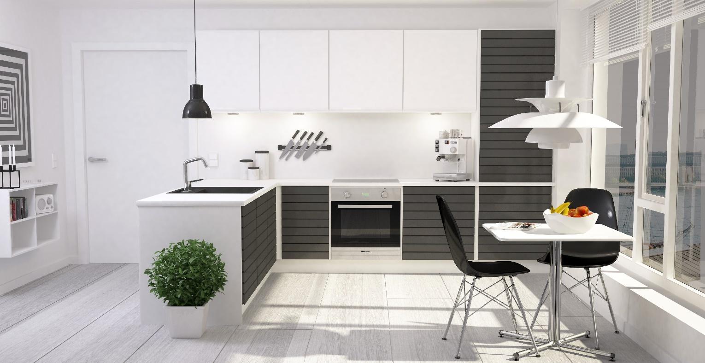 چیدمان آشپزخانه مدرن 4