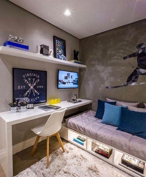 اتاق خواب کوچک 8