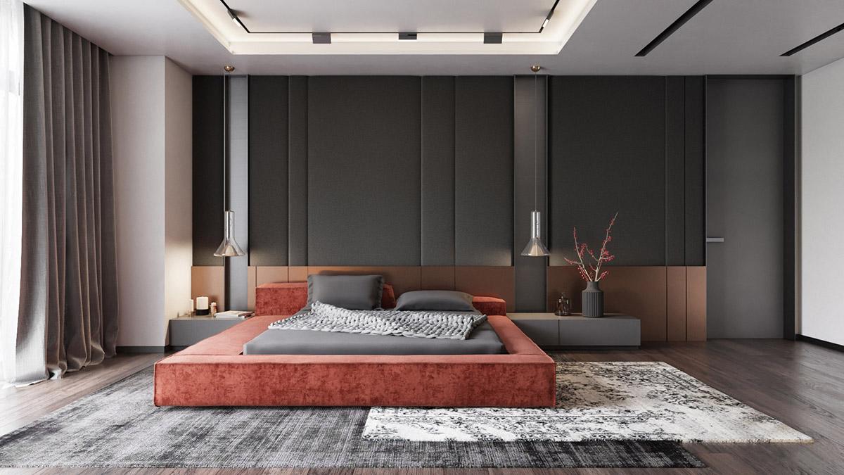 طراحی داخلی اتاق 9