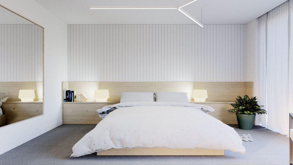 اتاق خواب ساده 8