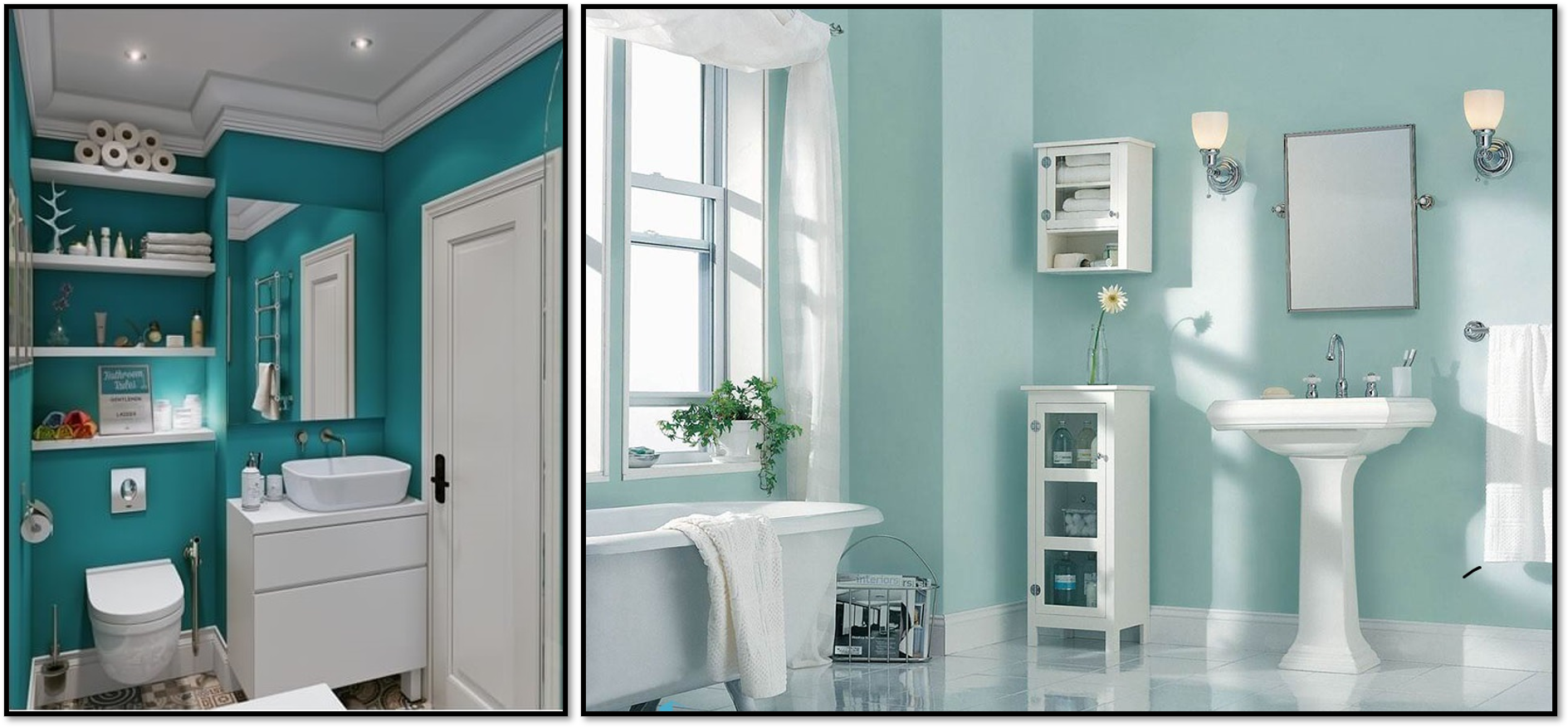 سرویس بهداشتی سبز آبی