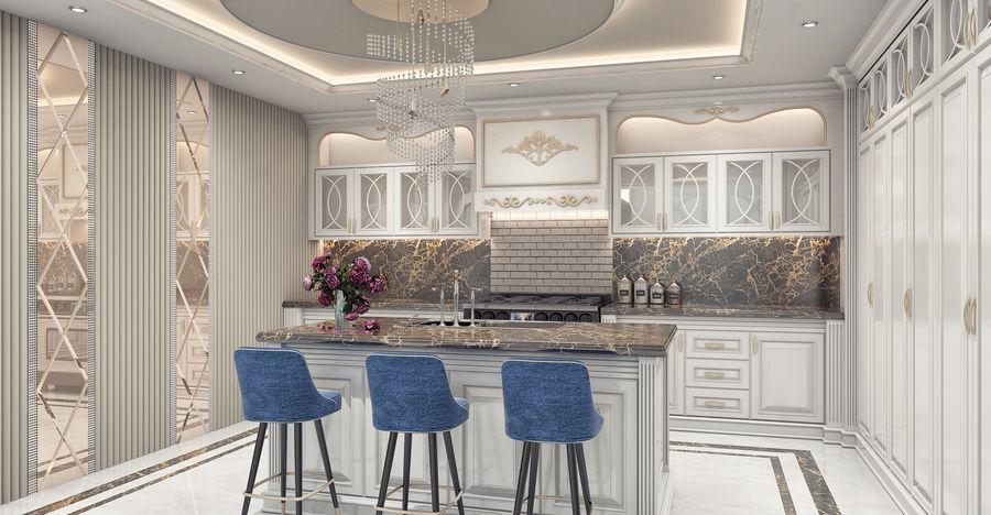 طراحی آشپزخانه سلطنتی 1