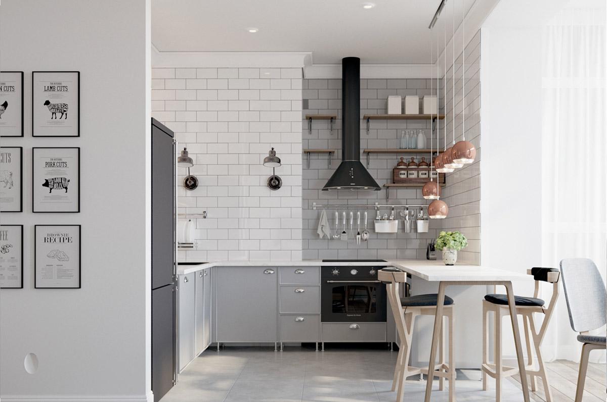 طراحی آشپزخانه مدرن 10