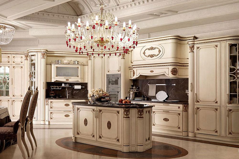 طراحی آشپزخانه سلطنتی 11