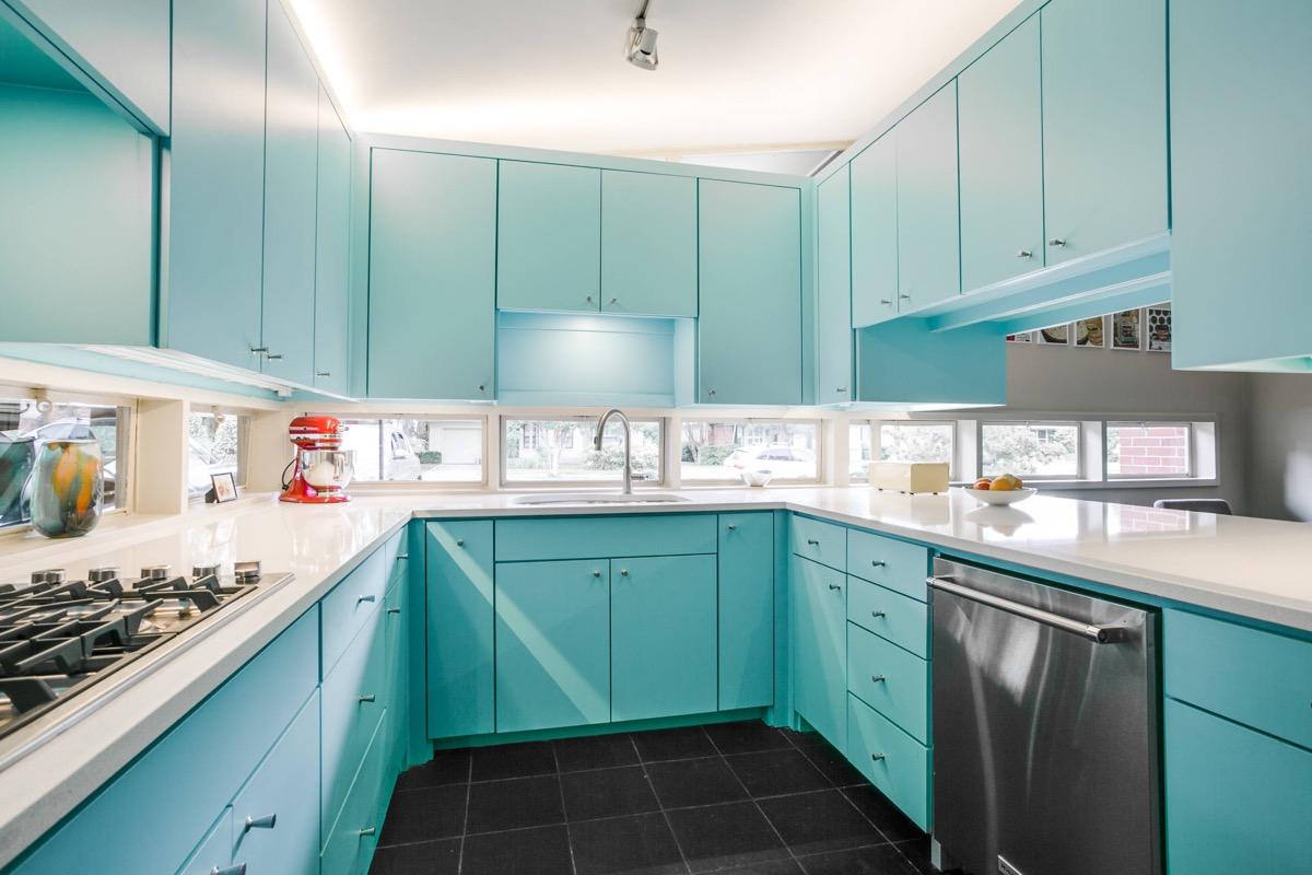 طراحی آشپزخانه مدرن 13