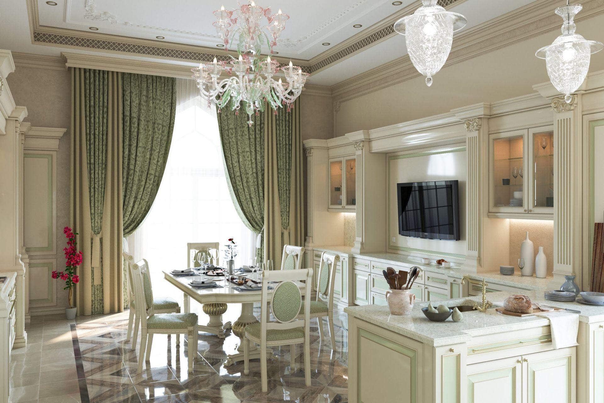 طراحی آشپزخانه سلطنتی14